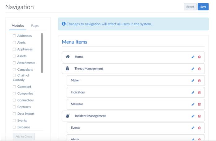 Adding Malwr Module to Threat Management Menu