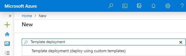 "Create resource ""template deployment"""