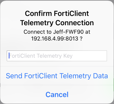 iOS) User Guide | FortiClient 6 0 1 | Fortinet Documentation