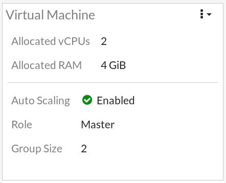 Verify the Auto Scaling group information