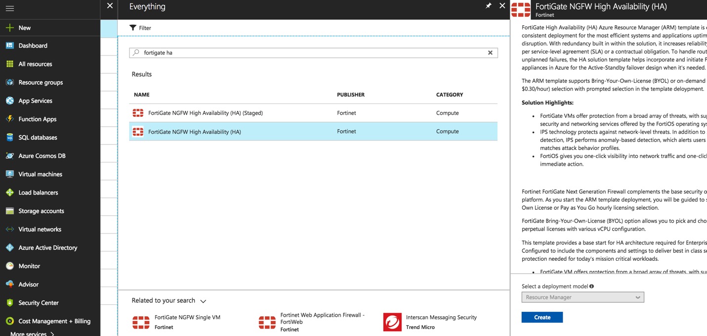 Use case: High availability for FortiGate on Azure | FortiGate