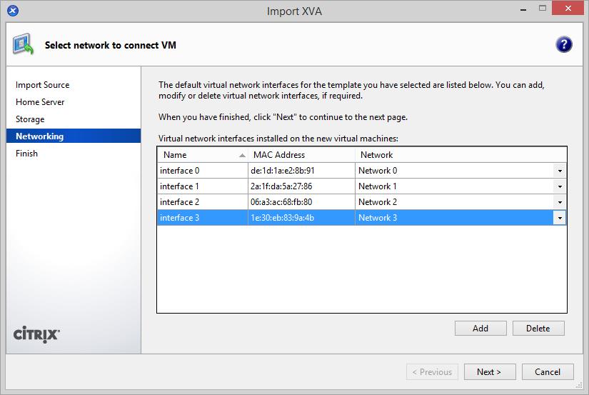 FortiManager VM on Citrix XenServer | FortiManager 6 0 0