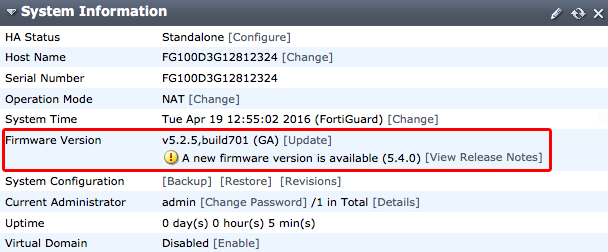 Cookbook | FortiGate / FortiOS 5 4 0 | Fortinet