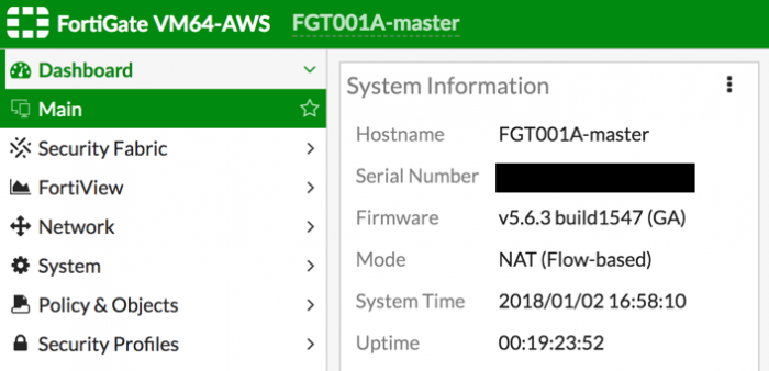 Use Case: High Availability for FortiGate on AWS | FortiGate