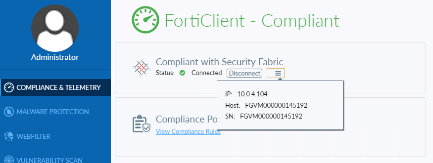 Compliance Guide | FortiClient 6 0 0 | Fortinet Documentation Library