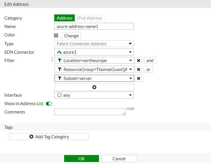 Screenshot displays filter logic option.