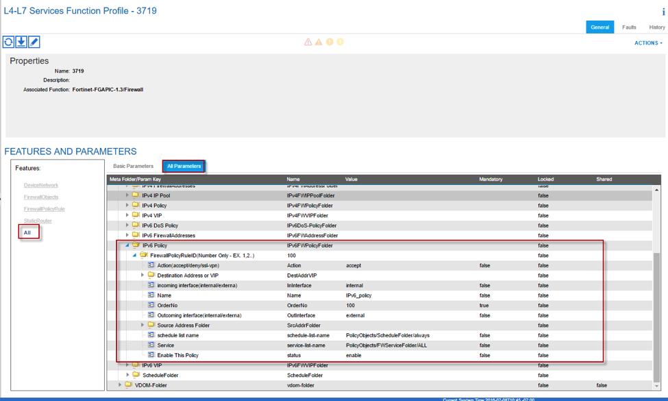 FortiGate Connector - Cisco ACI Deployment Package